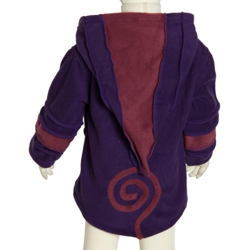 Manteau avec capuche lutin