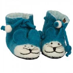 Zapatillas de fieltro niños