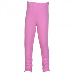 Legging ethnique fille uni rose