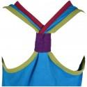 Robe Arc-en-ciel enfant turquoise