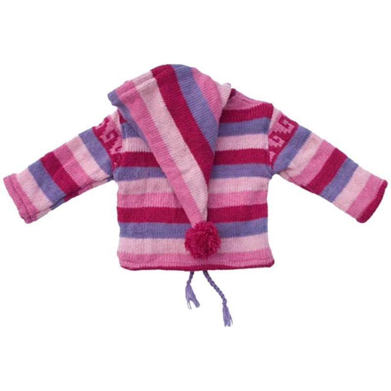 manteau laine fille vestes laine v tements enfants poutali. Black Bedroom Furniture Sets. Home Design Ideas
