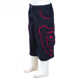 Pantalon corto etnico chico negro