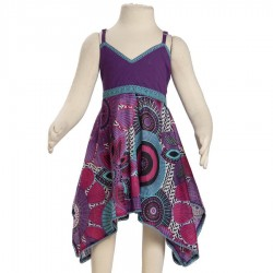Robe indienne babacool violette