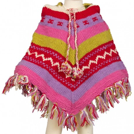 Poncho baba cool fille 4-6 ans F7
