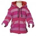 Chaqueta 4anos lana rosa