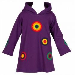 Robe psychédélique Lutin violette