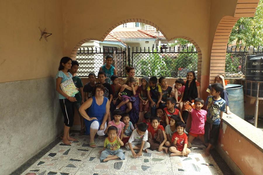 Actions en faveur des enfants du Népal