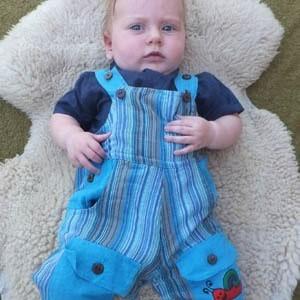 Salopettes bébé 6 mois