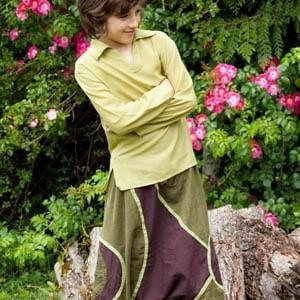 Pantalones afganos etnicos ninos