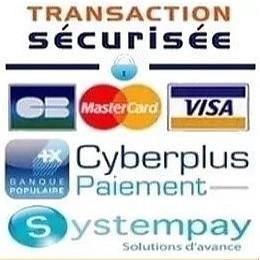 sécurité maximale lors de vos paiements sur notre boutique en ligne.