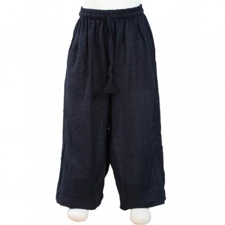 Plain black trouser     6months