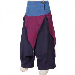 Girl ethnic moroccan trousers fairy purple