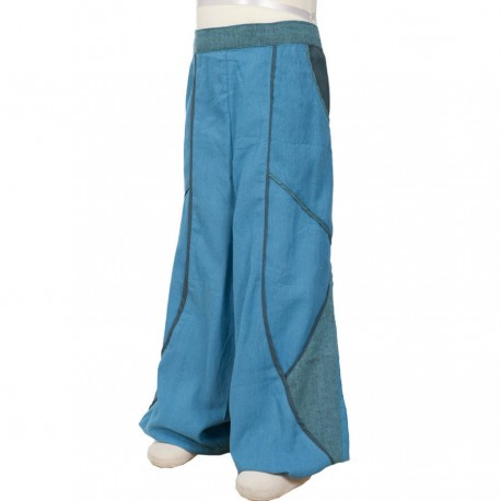 Baggy boy trousers turquoise