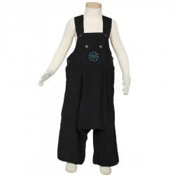 Kid afgani overall velvet black