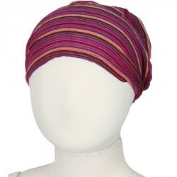 Hairband kid baby girl woman stripe violet