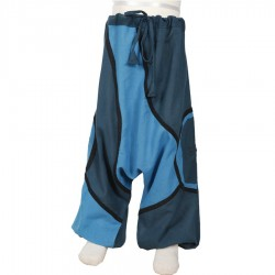Pantalon afgano etnico turquesa   12meses