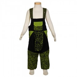 Kid afghan overall ethnic black