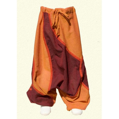 Orange ethnic trousers 6years