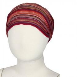Hairband kid baby girl woman stripe red