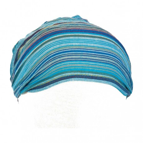 Hairband kid baby girl woman stripe turquoise