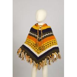 Poncho chico lana capucha 4-6anos G3