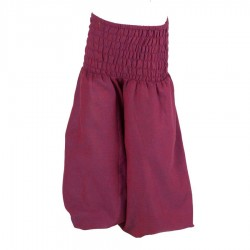 Girl Moroccan trousers plain violet 6months