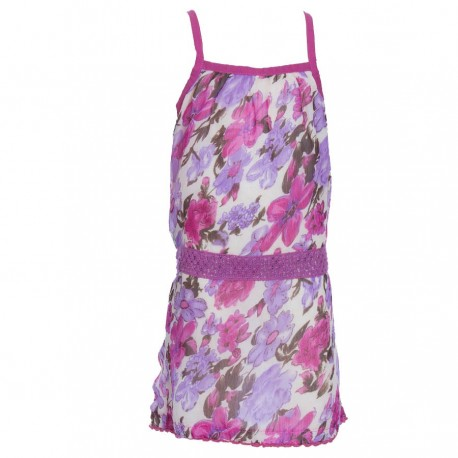 Ethnic flowery dress indian veil nacked back light purple