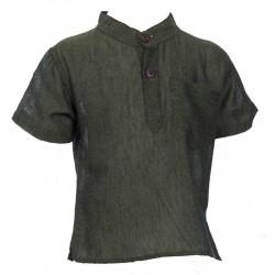 Camisa unida caqui    18meses
