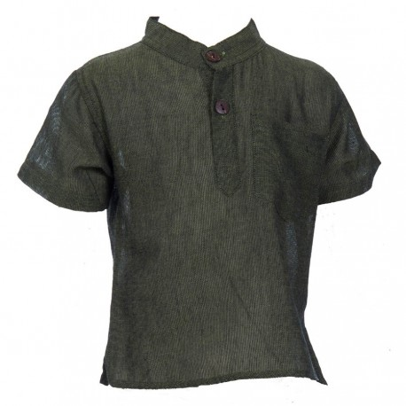 Chemise col Mao babacool