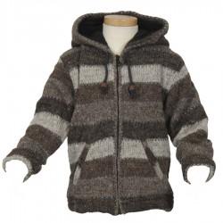 Chaqueta 2anos lana gris