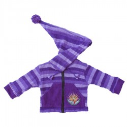 Mauve sharp hood jacket 12months