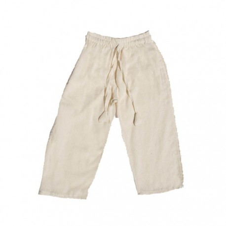 Pantalon unido blanco    3anos