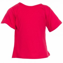 Camiseta etnica ninos rojo
