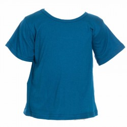 Teeshirt enfant babacool bleu petrole