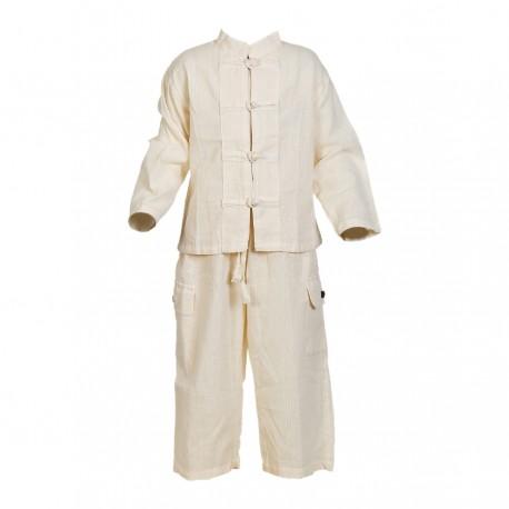 Chemise pantalon blanc
