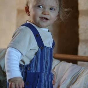 Salopette bébé garçon fille 12 mois
