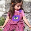 Salopette fillettes 3 ans