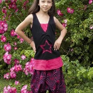 Sarouels filles 8 ans