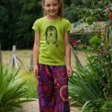 Girl baggy trousers