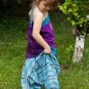 Elastic afghan trousers