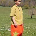Pantalones afganos bordados