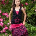 Spiral afghan trousers