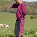 Thick cotton afghan trousers