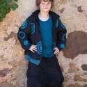 Velvet afghan pants