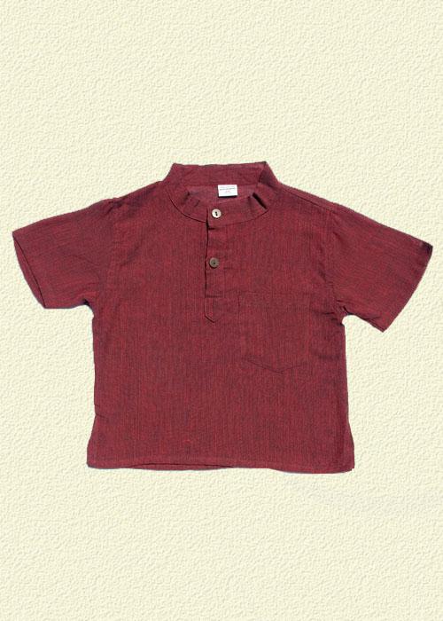 Camisa unida rojo
