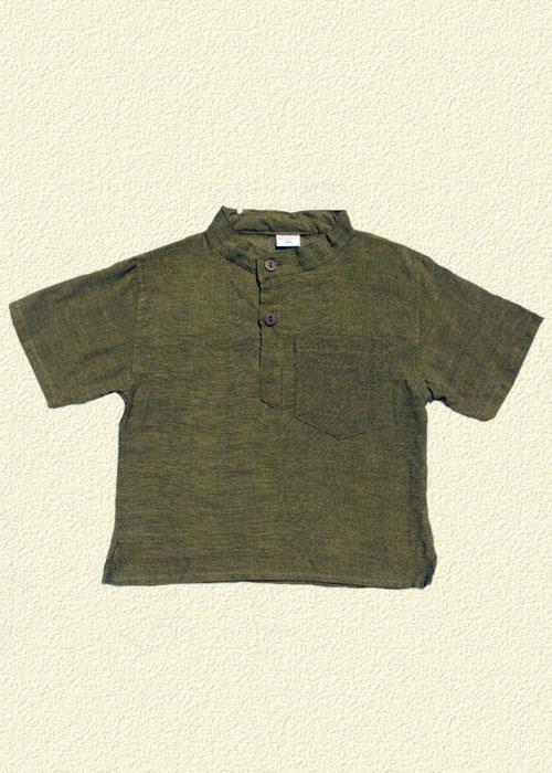 Camisa unida caqui