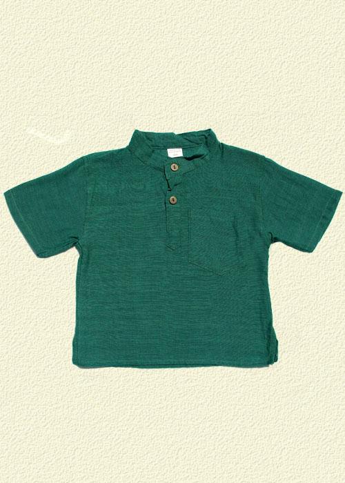 Camisa unida verde