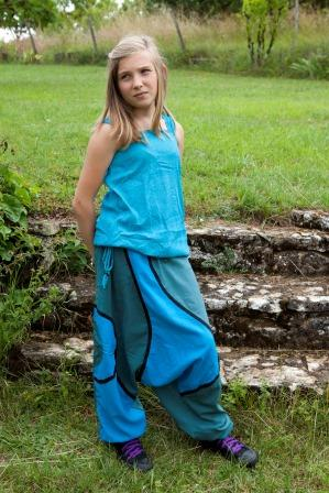 Ethnic kid afghan trousers