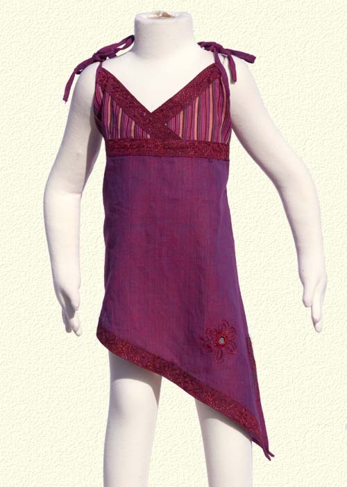 Violet asummetrical tunic