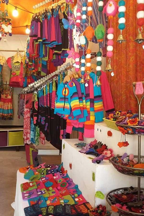 Boutique vêtements ethniques